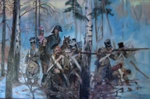 Olszynka Grochowska - obraz wg.W.Kossaka