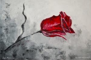 Czerwona roża