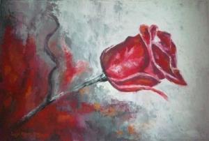 Roża czerwona