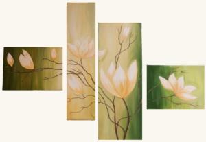 Kwiatowy tryptyk