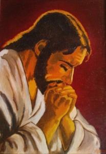Jezus modlacy sie