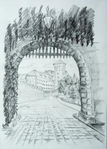 Wawel Brama