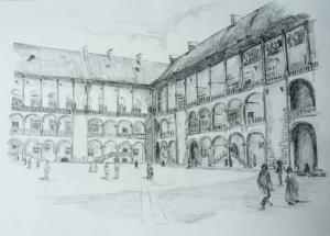 Wawel - Dziedziniec Arkadowy