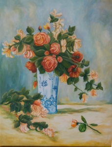 Róże i jasmin